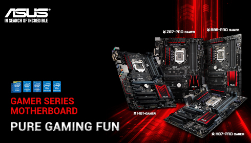 Asus Gaming Motherboards